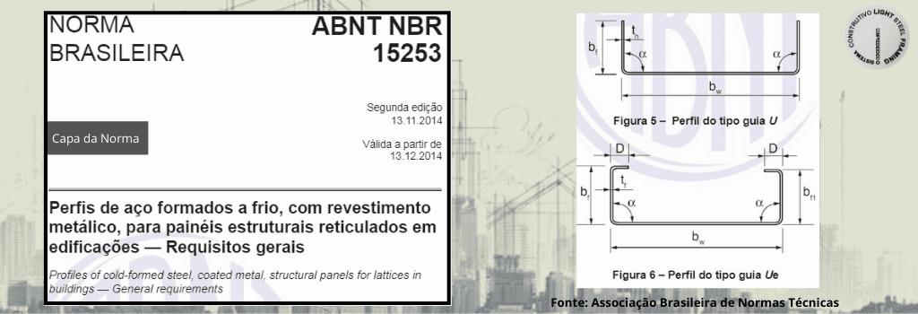 ABNT NBR 15253 - Normas utilizadas em Light Steel Framing